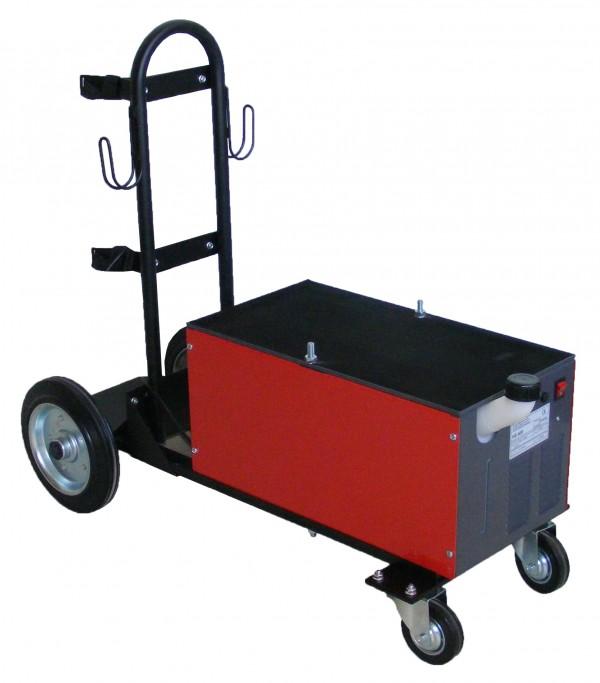 Hladilni sistem za varjenje na vozičku