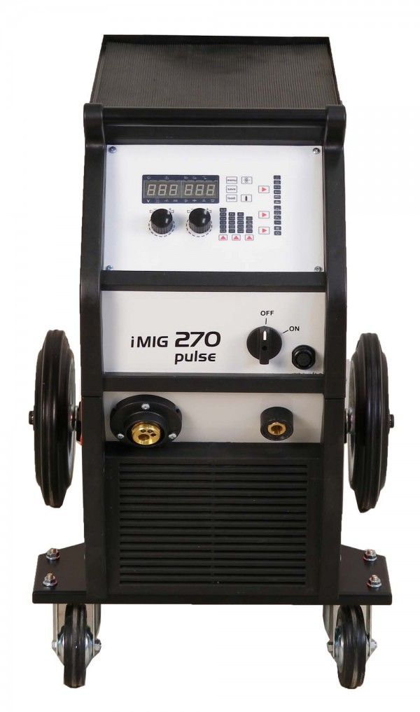 Pulzni MIG inverterski varilni aparat iMIG 270 pulse spredaj