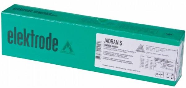 elektrode za elektroobločno varjenje jadran s