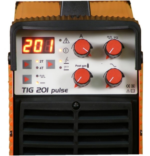 TIG 201 pulse panel
