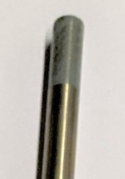 Volfram elektroda, siva